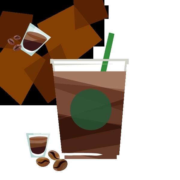 アイス エクストラショット カフェ アメリカーノ