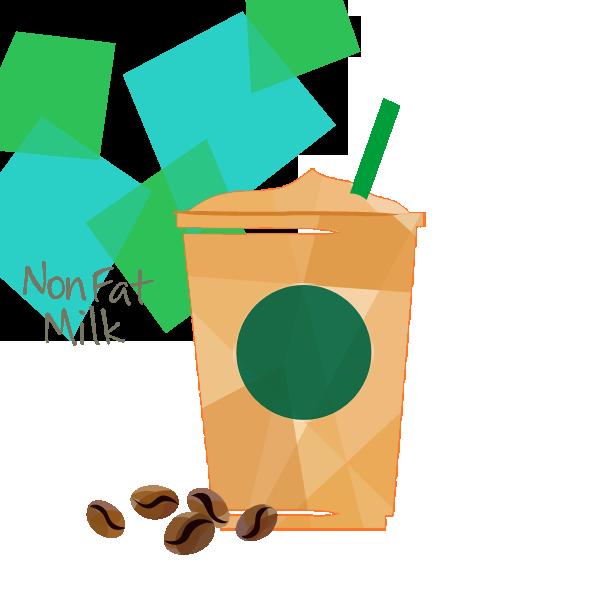 ノンファットミルク コーヒー フラペチーノ ®