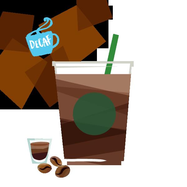 アイス ディカフェ カフェ アメリカーノ