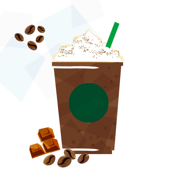 エクストラコーヒー ダーク モカ チップ フラペチーノ ®