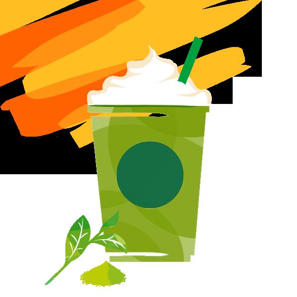 抹茶 クリーム フラペチーノ ®