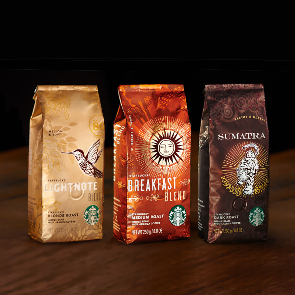 コーヒー豆:STARBUCKS® BLONDE ROAST