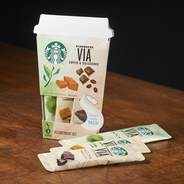 スターバックス ヴィア® コーヒー & ティー アソートセット 3本入り|スターバックス コーヒー ジャパン | コーヒー豆 : STARBUCKS  VIA®