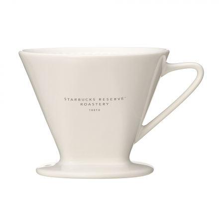 スターバックス リザーブ® ロースタリー セラミックドリッパー2カップホワイト