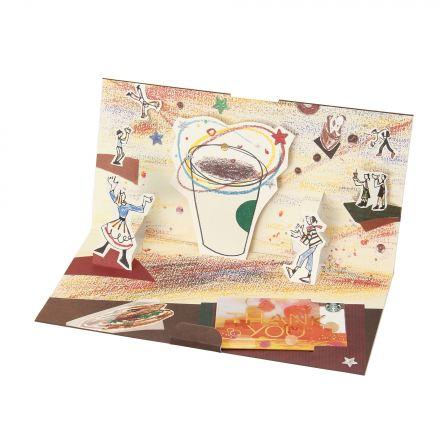 スターバックス カードギフト コーヒーサーカス My Thanks (入金済み)