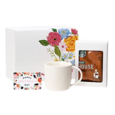 母の日ギフト オリガミ® ディカフェ ハウス ブレンド3袋入り & ロゴマグ310ml (Mother's Dayカード付)