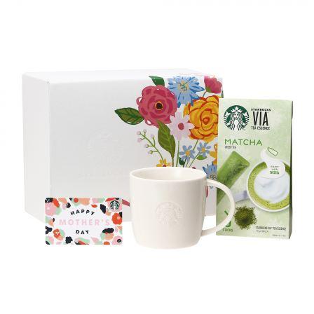 母の日ギフト スターバックス ヴィア® 抹茶 & ロゴマグ310ml (Mother's Dayカード付)