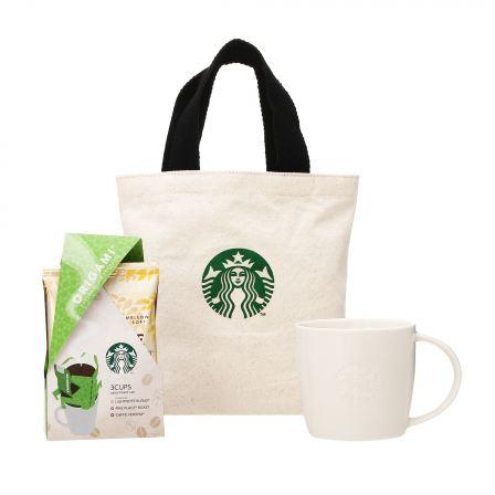 スターバックス オリガミ® パーソナルドリップ® コーヒー アソートセット& ロゴマグ390ml