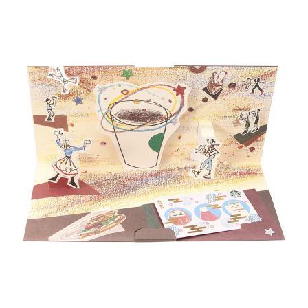 スターバックス カード ギフト コーヒーサーカス JAPAN アイコンズ (入金済み)