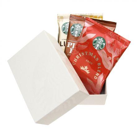 スターバックス オリガミ® ホリデーアソートセット 3袋入り(白)